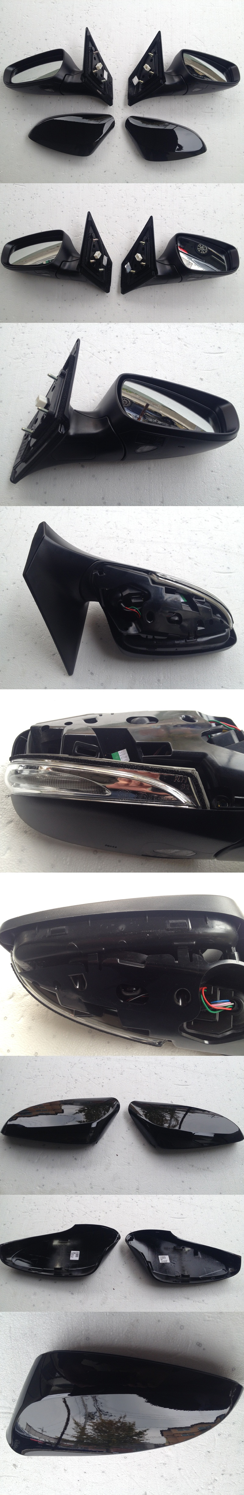 LED Puddle /& Signal Side Mirror Assembly For 2012 2014 Hyundai Elantra GT i30